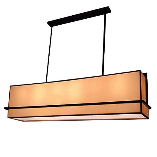 Amazon.com: Lámpara de techo colgante de hierro forjado con ...