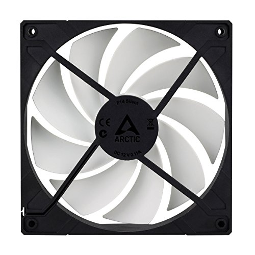 Arctic F14 Silent - Ultra-Quiet 140 mm Case Fan | Silent Cooler with Standard Case | Almost inaudible | Push- or Pull Configuration Possible by ARCTIC (Image #3)
