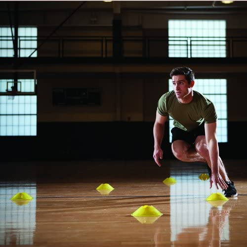 PER4M 20-Piece Quick Cones for Speed and Agility Training