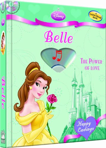 Disney Princess Belle: The Power of Love (with audio CD) (Disney Princess: Happy Endings) by Brand: Soundprints