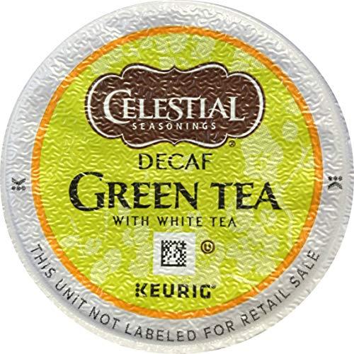 Celestial Seasonings Decaffeinated Green Tea K-Cups, 96 Count (Packaging May Vary)