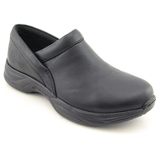 Men's Barnett Slip-on Shoes Black Leather