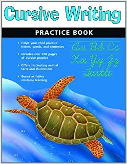 Cursive Writing Practice Book (Flash Kids Harcourt Family Learning ...