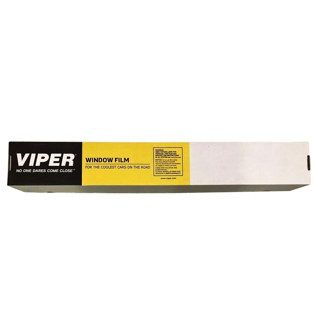 Viper Style Series 36'' x 100' 20% Car Vehicle Automotive VLT Window Film