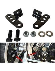 "Motobiker 1Set Adjustable Lowering Kit 1-3"" for Harley Sportster 2000-2015 XL883 XL1200 Rear Motorbike Lowering Blocks"