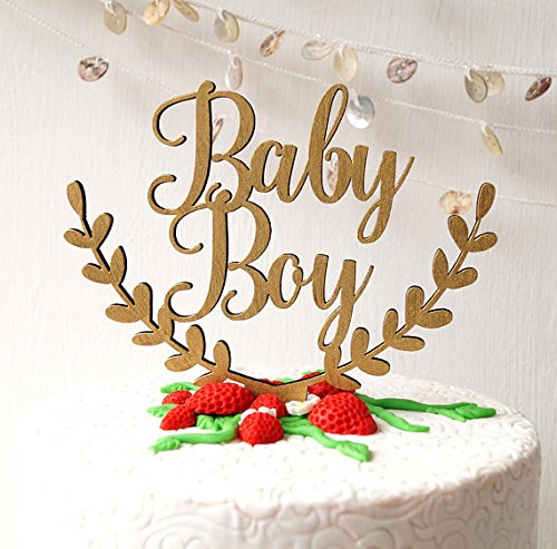 Baby shower cake topper, Baby Boy cake topper, gender reveal cake topper, baby shower topper, new baby cake topper