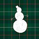 Ideal Home Range 20 Count Cocktail Napkins, Mad for Plaid Snowman
