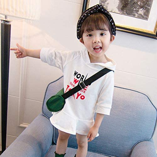 ファッション暖かいデザインテリーベビーガールドレス子供の冬暖かい服カジュアルコンパクトかわいい服-ホワイト130 cm