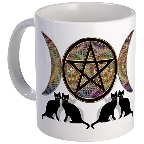 CafePress - Crystal Ball Pentagram Mug - Unique Coffee Mug, Coffee Cup