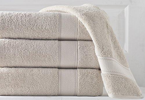 Grund Luxury Spa Towel, 100% Certified Organic Turkish Cotton, 36-Inch by 72-Inch, Driftwood, 1 piece by Grund