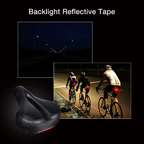 Bike Seat Replacement with Dual Shock... Tonbux Most Comfortable Bicycle Seat