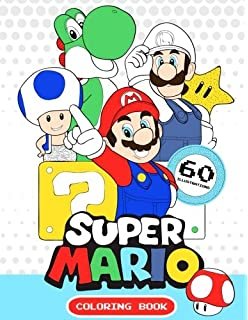 Super Mario Coloring Book: MARIO, great coloring pages, (for kids ...