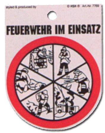 Cartel - bomberos en funcionamiento - fuego defenderse ...
