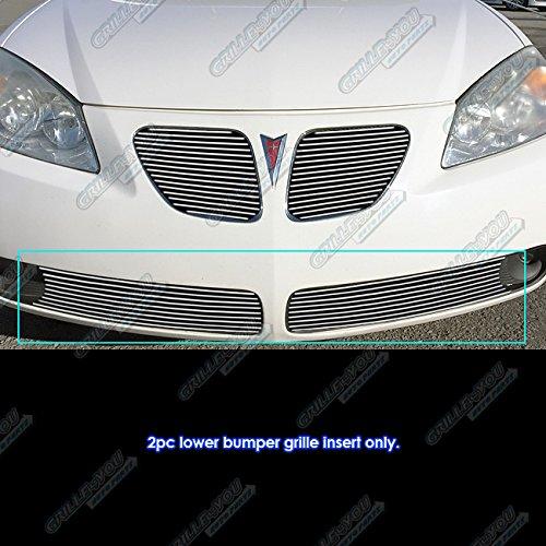 - APS Fits 2005-2008 Pontiac G6 Lower Lower Bumper Billet Grille Insert #P65131A