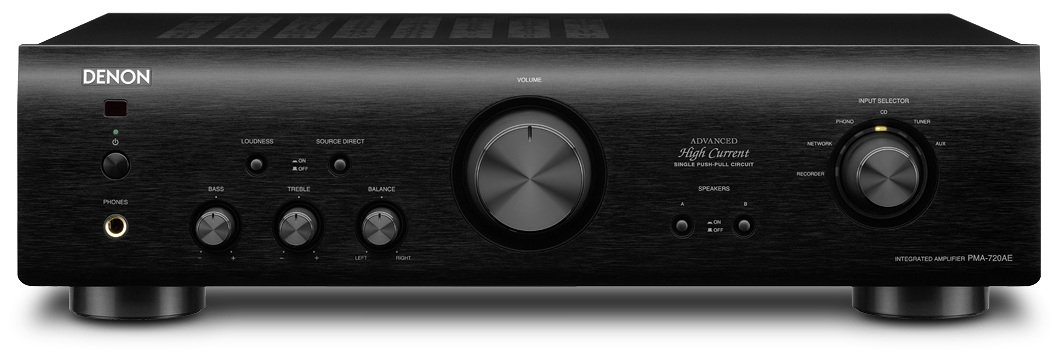 Denon PMA-720 AE - PMA720 AE Amplificador Negro product image
