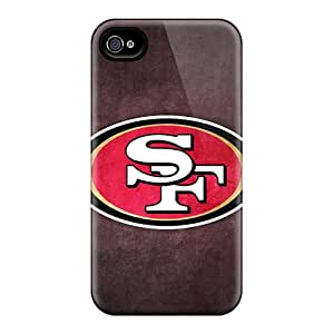 Iphone High Quality Tpu Case/ San Francisco 49ers IcXBuVD4085 Case Cover For Iphone 4/4s