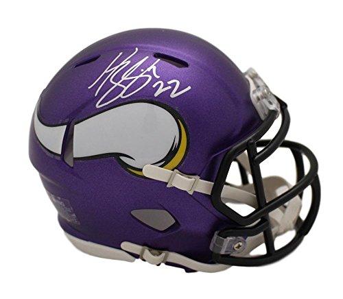 Harrison Smith Autographed/Signed Minnesota Vikings Mini Helmet BAS ()