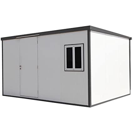 Amazon com: Duramax Flat Top Insulated Buildings 16 ft  W x