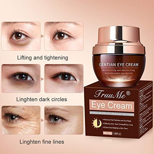 51YBtiY9ghL - Under Eye Cream, Under Eye Bags Treatment, Anti Aging Eye Cream, Eye Repair Cream to Reduce Eye Bags/Dark Circles/Wrinkles/Fine Lines/Fat Granule