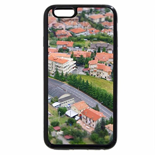 iPhone 6S / iPhone 6 Case (Black) Small Town