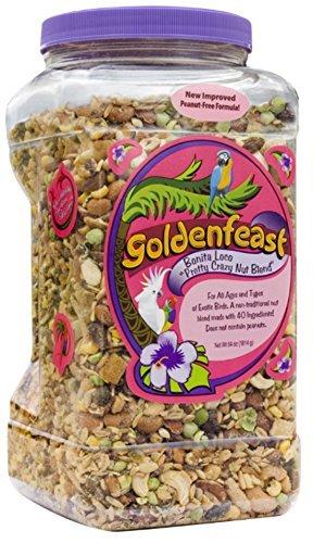 Goldenfeast Bonita Loco Bird Food, 64 oz. by Goldenfeast