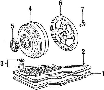 Amazon Com Ford 1f2z 7902 Aarm Auto Trans Torque Converter Automotive