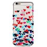 PowerQ Transparent Colorful TPU Pattern Series for SONY Xperia Z3compact Compact Z3mini Mini Case Bag Pattern Print Printing Drawing Cell Phone Case mobile Cover Soft Protect Skin (Multi Hearts)
