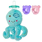 WubbaNub Octopus with Soothie Bears