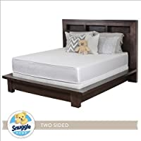 Snuggle Home 10 Inch Foam Two Sided Mattress KING
