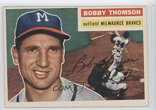 bobby-thomson-baseball-card-1956-topps-base-257