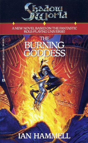 book cover of The Burning Goddess