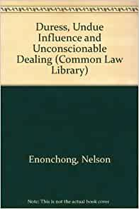 duress and undue influence pdf