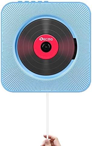 DZSF Reproductor de CD Caja de Audio portátil para el hogar Bluetooth montable en la Pared con Control Remoto Radio FM Altavoces de Alta fidelidad incorporados MP3,C: Amazon.es: Deportes y aire libre
