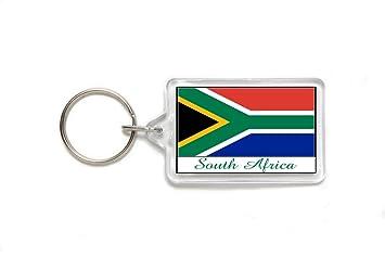 Amazon.com: Souvenir sur África Africano Bandera acrílico ...