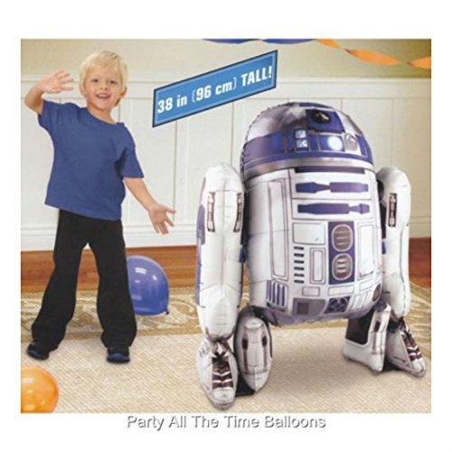 Star Wars R2-D2 Air Walker Balloon 38 HUGE NIP Robot by ()