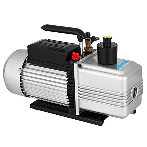 VEVOR Rotary Vane Vacuum Pump 12CFM 1HP Single Stage HVAC Auto