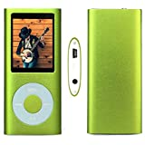 G.G.Martinsen Green 16 G Mini Usb Port Slim Small Multi-lingual Selection 1.78 LCD Portable MP3/MP4, MP3Player , MP4 Player , Video Player , Music Player , Media Player , Audio Player