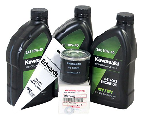 2015-2018 Kawasaki Mule Pro FX Mule Pro FXT Oil Change Kit (Kit Kawasaki Mule)