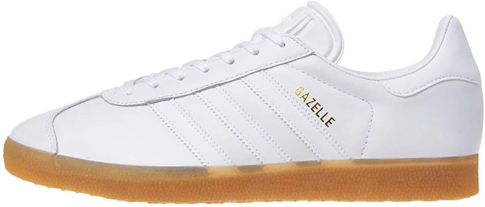adidas gazelle blanche et or