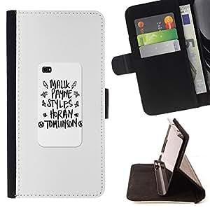 - notebook writing poster school text - - Prima caja de la PU billetera de cuero con ranuras para tarjetas, efectivo desmontable correa para l Funny HouseFOR Sony Xperia Z2 D6502