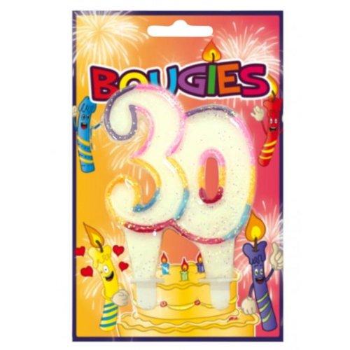 Surprisez-TE-vela de cumpleaños, Paquete de 30 años: Amazon ...