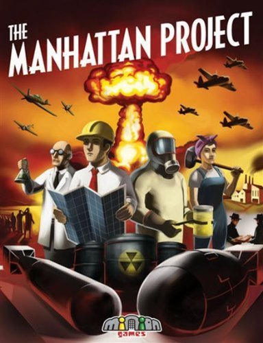 The Manhattan Project Board Game by The Manhattan Project
