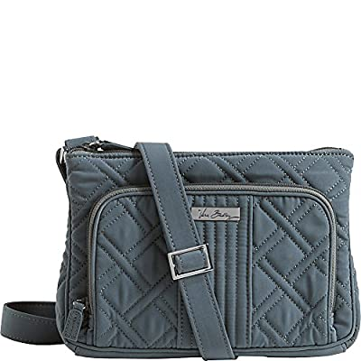 Vera Bradley Women's Little Hipster Charcoal Cross Body