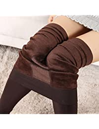 Women Winter Thick Warm Fleece Lined Thermal Stretchy Leggings Pants by XILALU