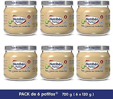 Nutribén Potitos Inicio: Amazon.es: Alimentación y bebidas