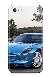 Waterdrop Snap-on Mercedes Sls Amg 7 Case For Iphone 4/4s