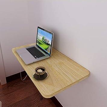 LLA Esquina del escritorio del ordenador montado en la pared Mesa ...