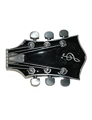 CTM® Guitar Head Belt Buckle, Black