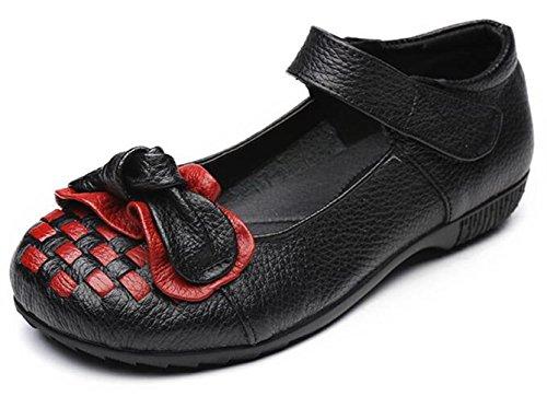 Espadrilles Chaussures Élégant Noir Simple Bateau Mode Confortable Wuiwuiyu Femmes Fille xgqaAxZ