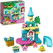 LEGO DUPLO Disney Ariel's Undersea Castle 10922 Imaginative Building Toy for Kids; Ariel and Flounder's Pr